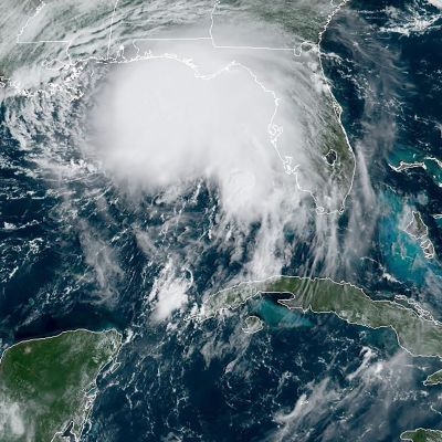 Satelliittikuva hurrikaani Sallysta.