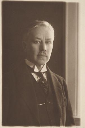 Oopperajohtaja Edvard Fazer vuonna 1921.