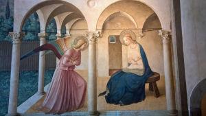 Marian ilmestys San Marcon luostarissa Firenzessä