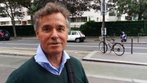 Vincent intervjuades om franska ex-presidenten Hollande