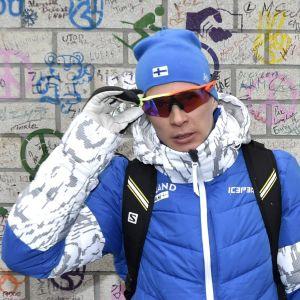 Matti Heikkinen är Finlands namnstarkaste åkare på 15 kilometer.