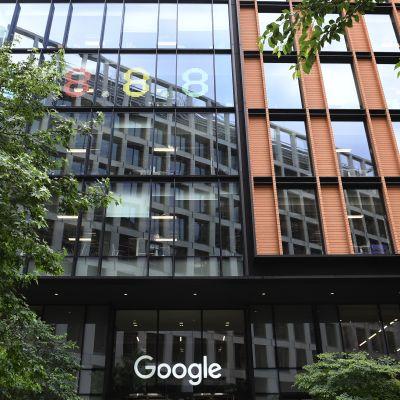 Googlen toimistorakennus St Pancrasissa Lontoossa.