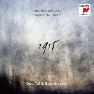 Pianoduo Tal & Groethuysenin levyn kansikuva