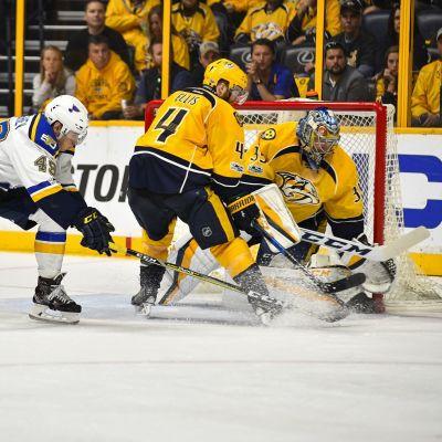 Pekka Rinne och Ryan Ellis håller siffrorna nere i NHL.