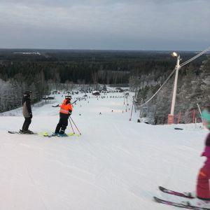 Slalomåkare.