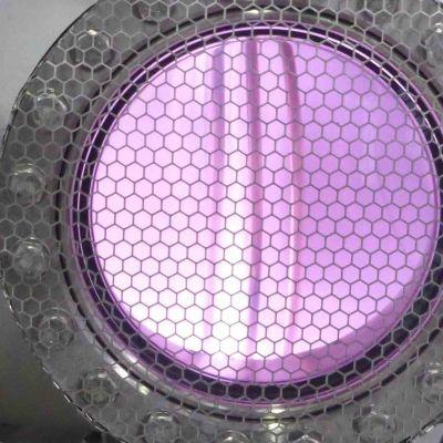 Plasma i en fusionsreaktor.