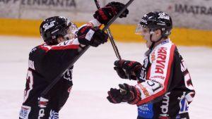 JYP besegrade SaiPa i Villmanstrand