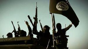 Bild från IS-propagandavideo 17.3.2014. Anbar, Irak.