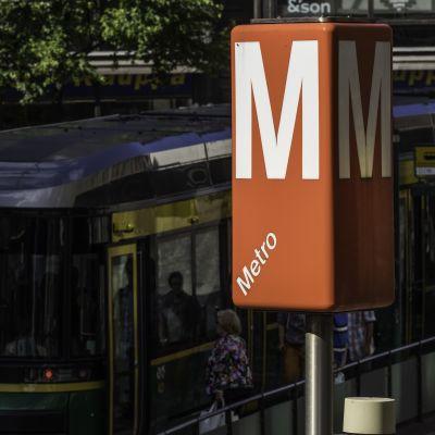 Metron merkki.