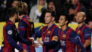 Messi blev historisk