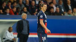 Zlatan Ibrahimovic och Jose Mourinho, 2014.