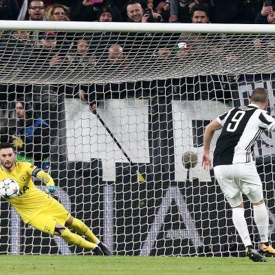 Juventus kryssade mot Tottenham i Champions League.