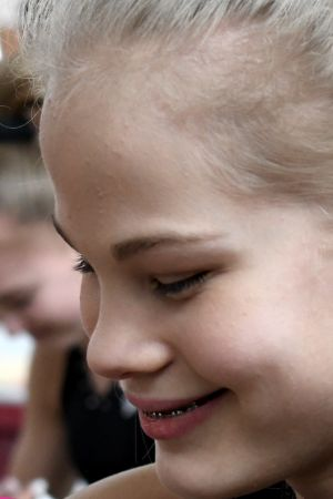 Redskapsgymnasten Enni Kettunen i Sportliv