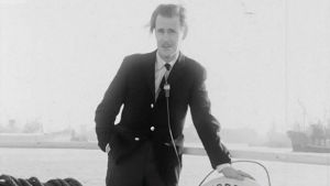 Carl Mesterton på m/s Norrö, 1961