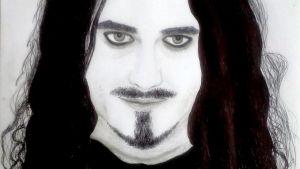 Diana Vasilyan piirtämä kuva Tuomas Holopaisesta