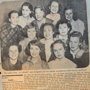 luciakandidater 1952