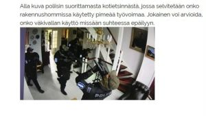Skärmdump från Kari Uotis blogg.
