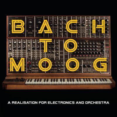 Johann Sebastian Bachin musiikista sovitetun levyn kansikuva.