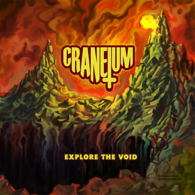 skivkonvolut Craneium Explore the void