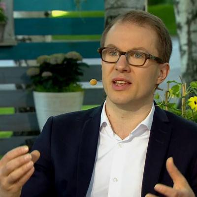 Lauri Nurmi, journalist, Lännen Media.