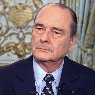 frankrukes förra president Jacques Chirac
