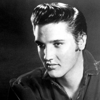Elvis Presley (1935-1977).