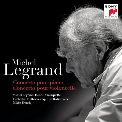 Michel Legrandin konserttolevyn kansikuva.