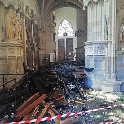 Palaneen katedraalin sisätiloja.