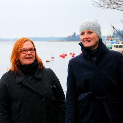 Anci Holm och Elli Flén