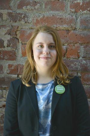Isabella Servanto ställer upp för De gröna i kommunalvalet 2017.