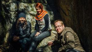Tomi Joutsen, Reetta, Antti ja kalliomaalaus.