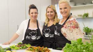 Amina Hietikko gästar Mat och Prat