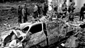 Räjähdys Uudenkylän asevarikolla (1965).