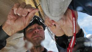 Thomas Johanson i Volvo Ocean Race 2008/2009.