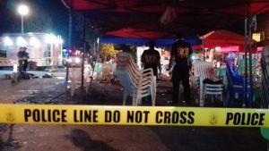 Polisen har spärrat av område i filippinska staden Davao där explosion inträffade 2.9.2016