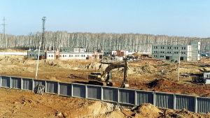 Upparbetningsanläggningen för kärnavfall Majak i Ryssland