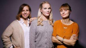 Maria Soxbo, Emma Sundh och Johanna Nilsson