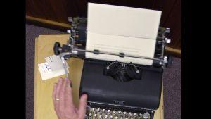 Författare på den gamla goda tiden...