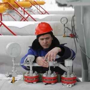 Gasmätningsstation i Ryssland