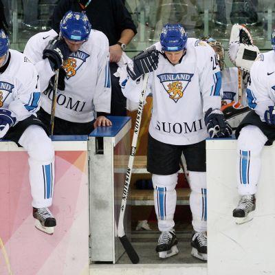 Så här ledsna var lejonen efter att ha förlorat mot Sverige i OS 2006.