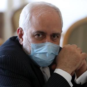 Irans utrikesminister Mohammad Javad Zarif