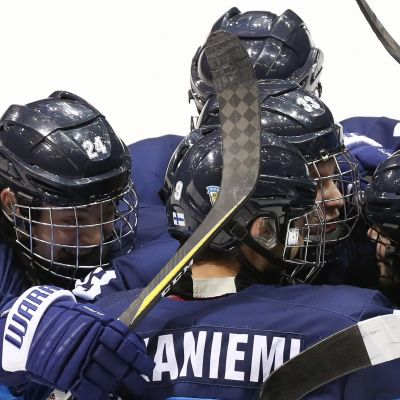 Finlands U18-landslag i hockey.
