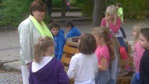 Rektor och lärare vid tysk skola