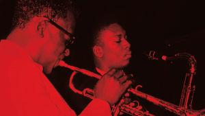 Miles Davis och John Coltrane