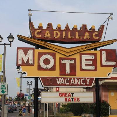 Hotellin valomainos, USA