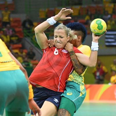 Heidi Loke, Norge-Brasilien, OS 2016.