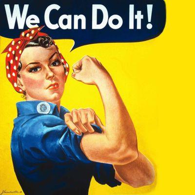 We can do it!-planschen