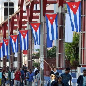 Nyårsfirande i Havanna på Cuba