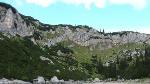 Bergig terräng i Montenegro