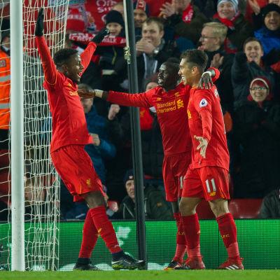 Liverpool besegrade Stoke i Premier League.